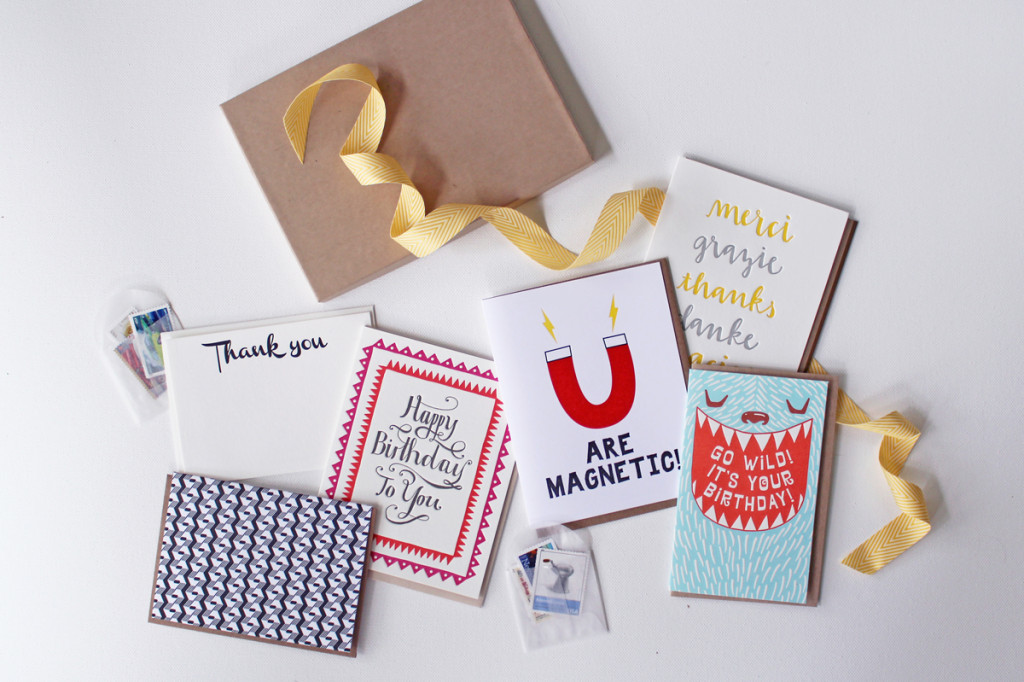 Nicely Noted Letterpress Stationery Subscription