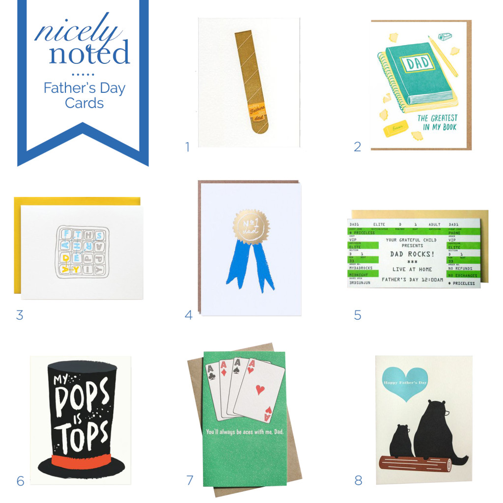 Nicely Noted | Best Father's Day Cards