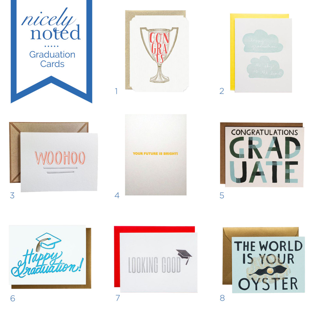 Nicely Noted | Favorite Graduation Cards