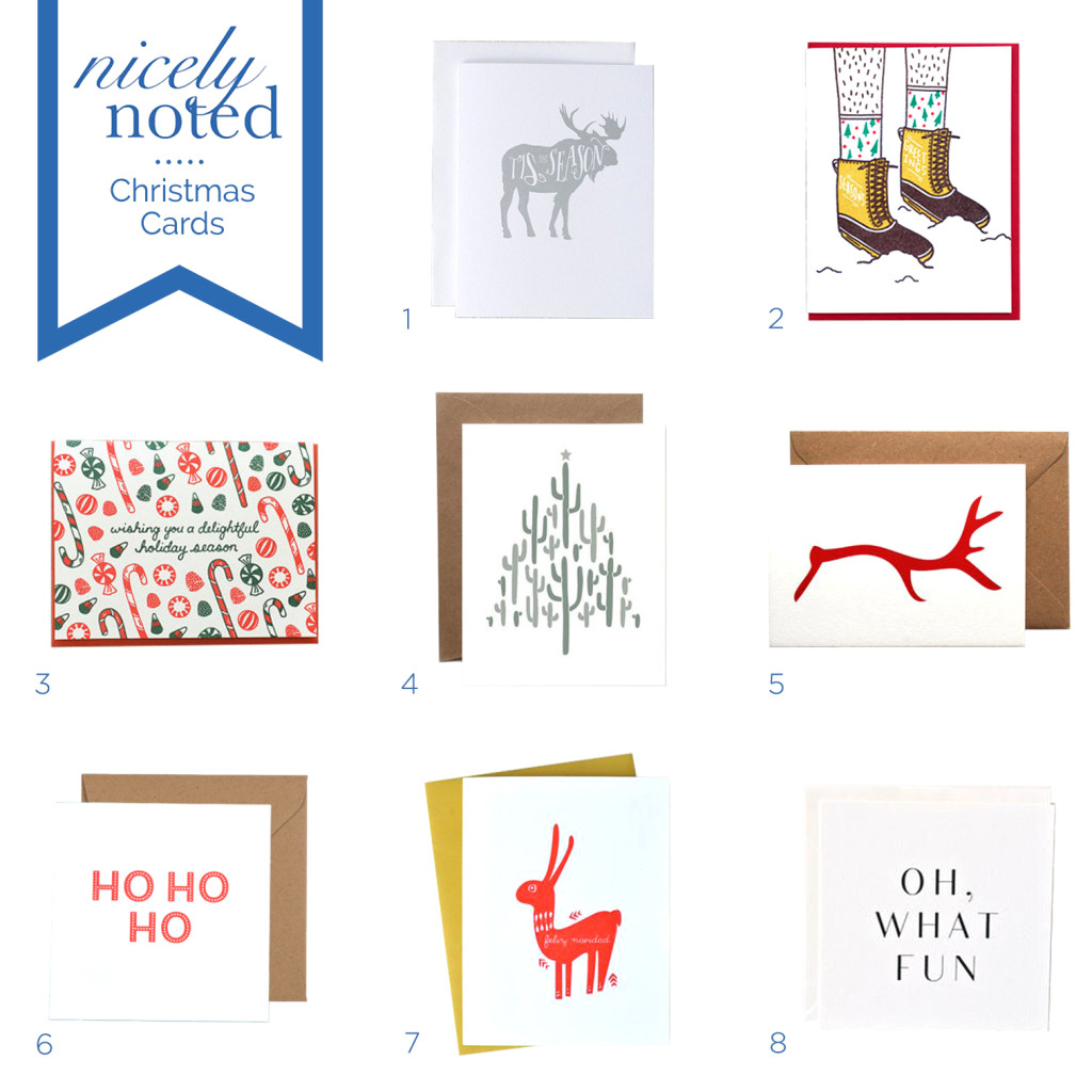 Nicely Noted | Best Christmas Cards