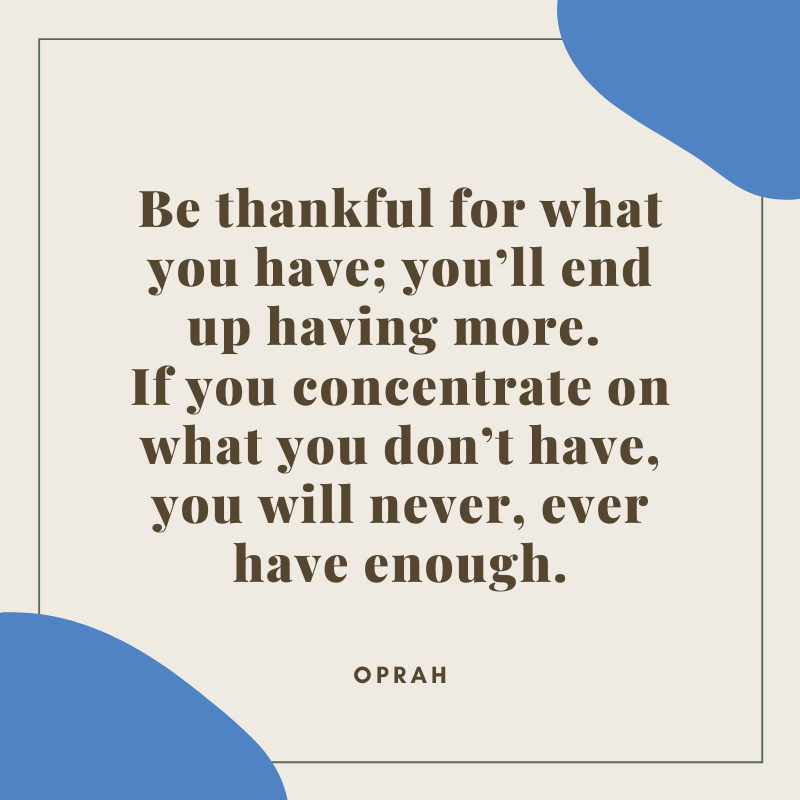 Oprah Quote on Gratitude